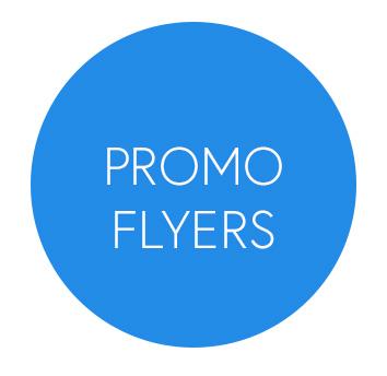 Promo Flyer button